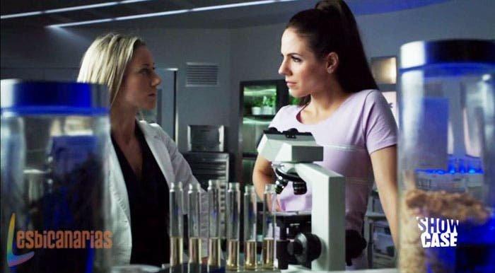 Bo y Lauren en el laboratorio
