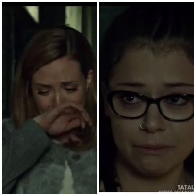 cosima y delphine lloran