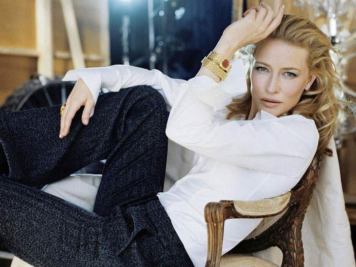 Cate Blanchett de traje