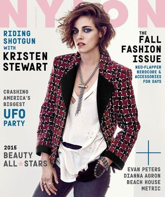 Kristen Stewart portada Nylon