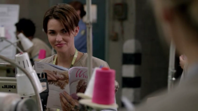 Ruby Rose, congrats on your face