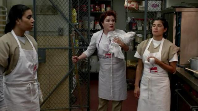 """""""¿Este delantal... para mí?"""""""