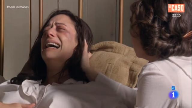 auora y celia lloran al bebe
