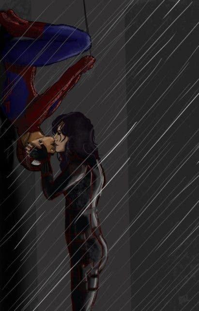 Spiderman Laura + Black Widow Carmilla Vía blindwire.tumblr.com