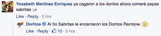 Doritos Rainbow Facebook