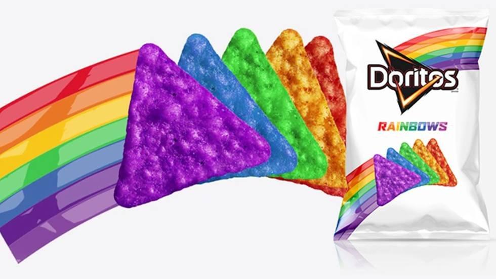 Los Doritos Rainbow son geniales y le están dándo con todo a los homófobos