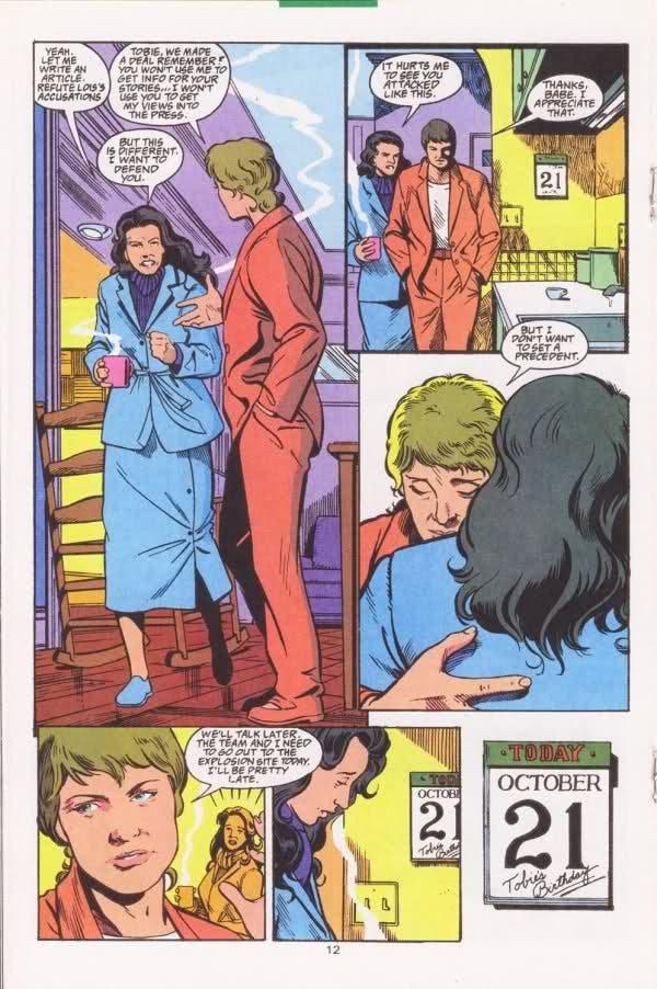 Maggie y Toby en Superman