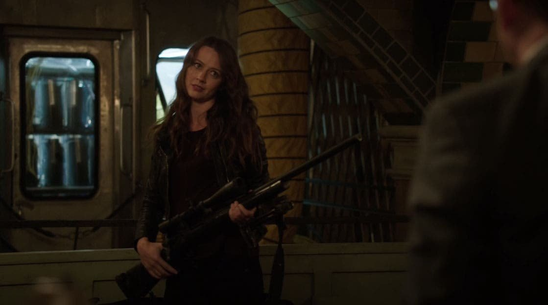 Root con el rifle