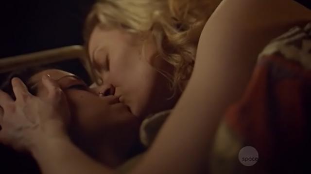cosima y delphine beso