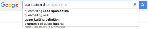 Hasta Google lo sabe (Vía shipsintheknight.tumblr.com)