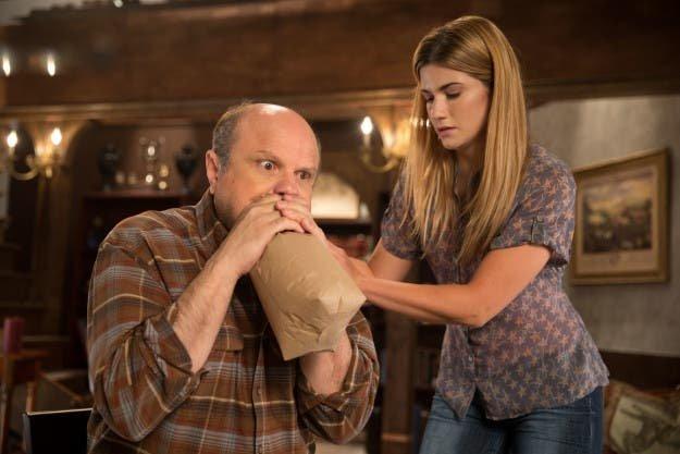 Laura y su padre en Carmilla