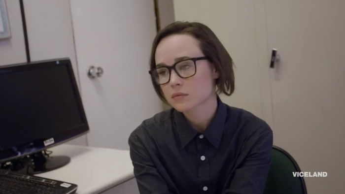 Ellen escuchando a homófobos. Not impressed