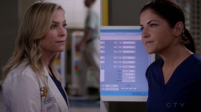 Eliza y Arizona hablando