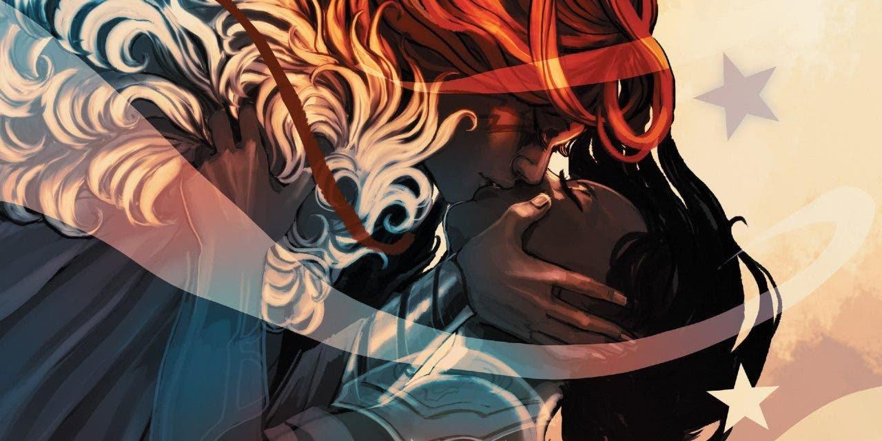 Angela: Queen of Hel un cómic lésbico con un romance espectacular