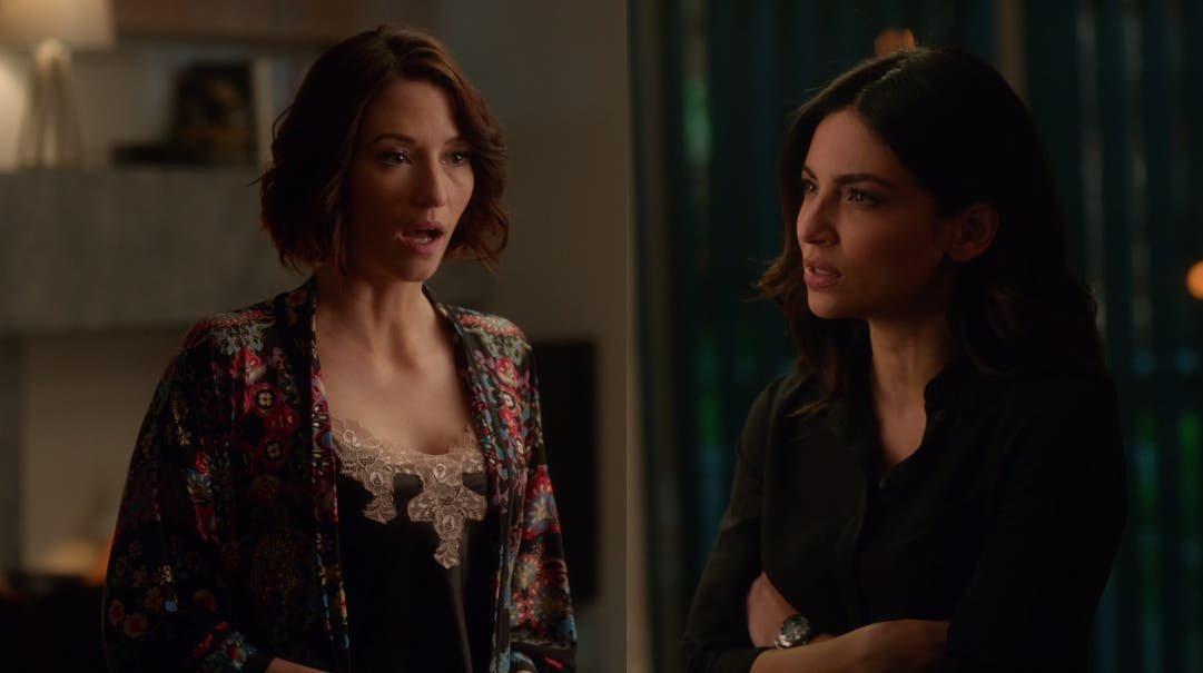 Alex y Maggie discuten