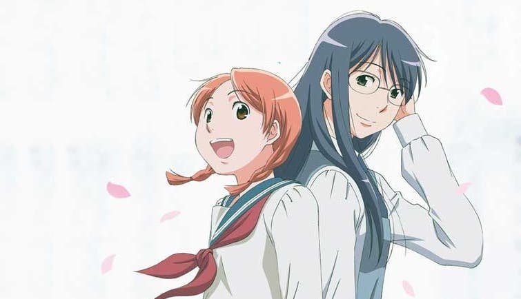 Aoi Hana Anime Yuri