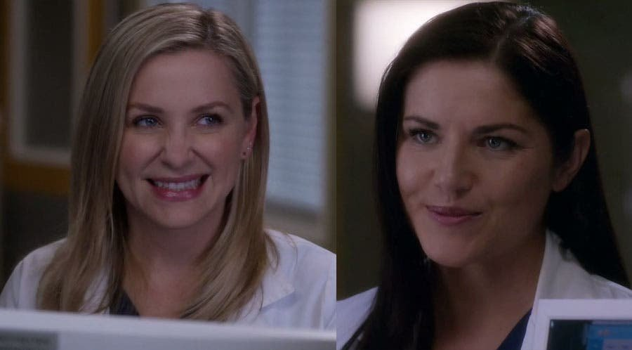 Arizona y Eliza sonriendo