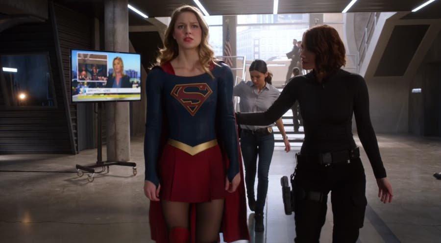 Supergirl, Alex y Maggie en la DEO
