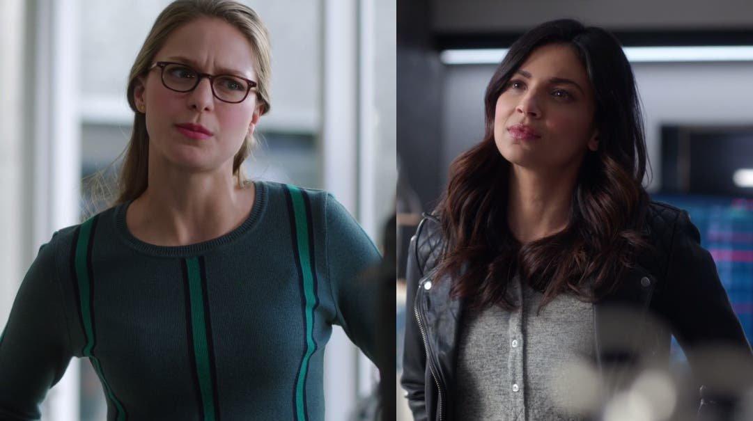 Kara y Maggie hablando en la DEO