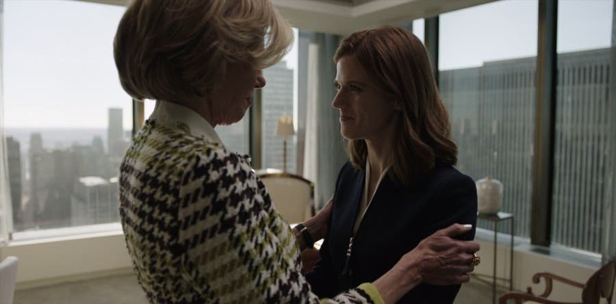Maia y Diane en la oficina