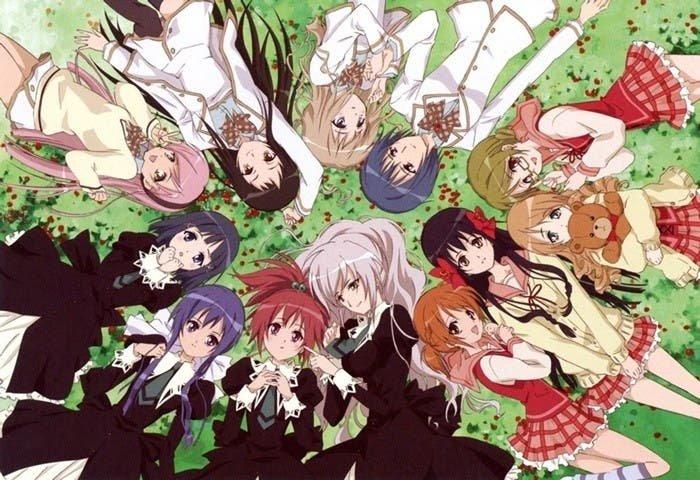 Strawberry Panic anime yuri