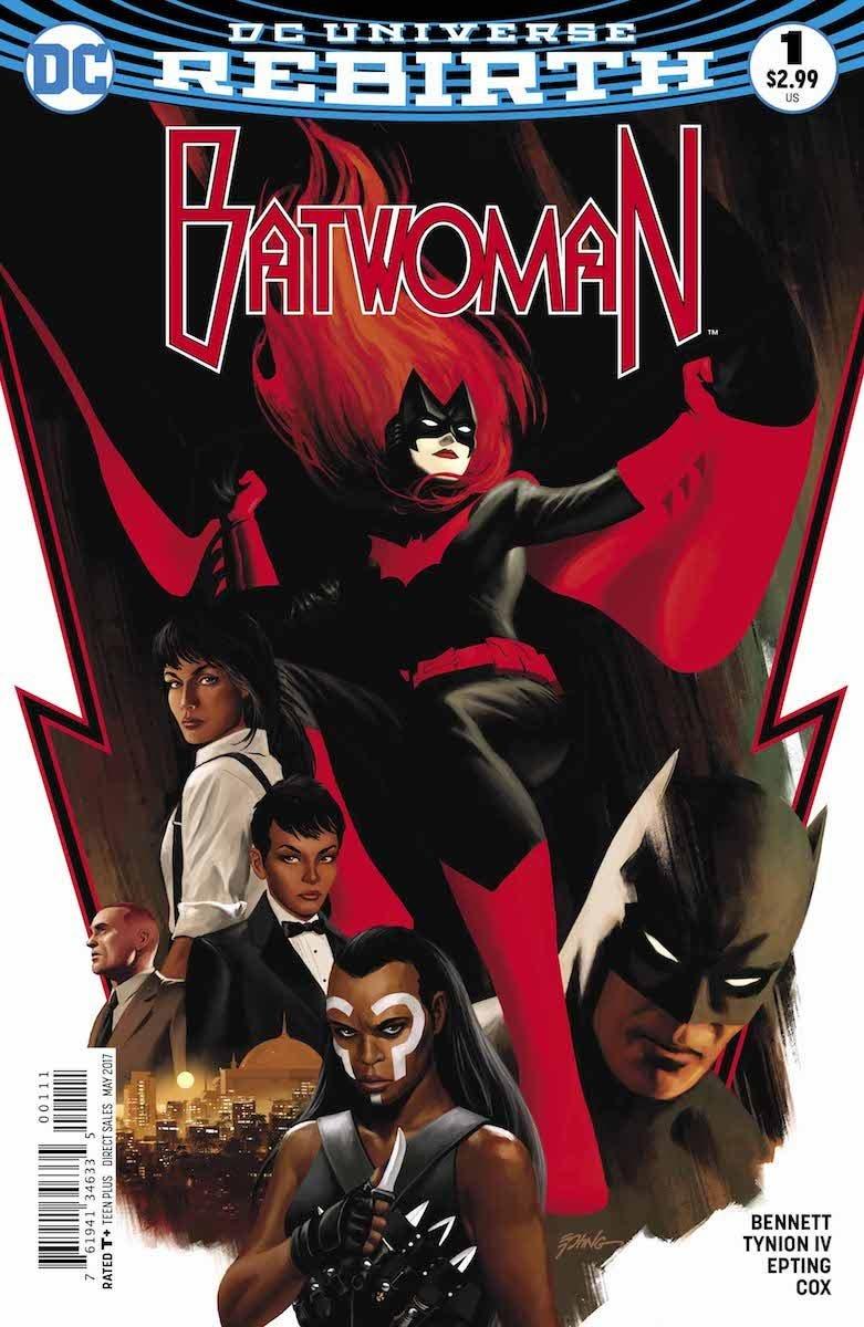 Batwoman 1 portada