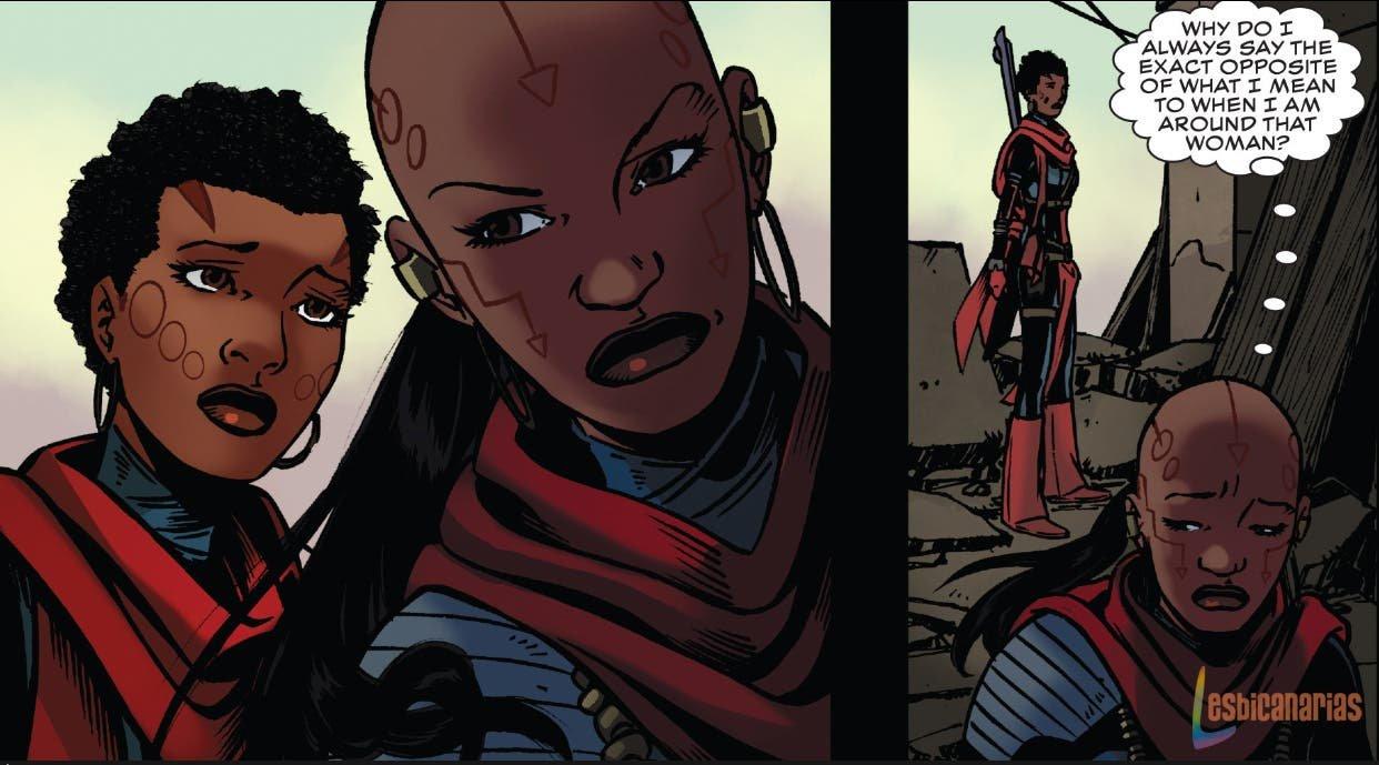 Ayo y Aneka Black Panther