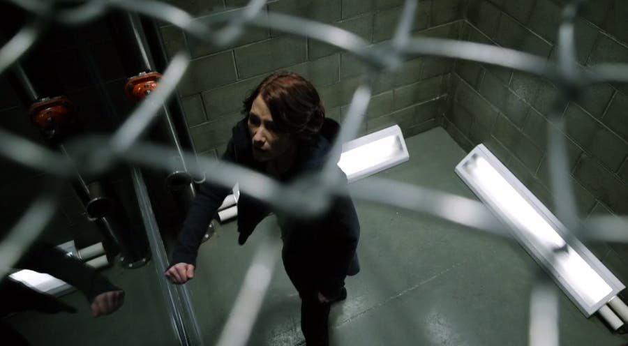 Alex encerrada en una jaula