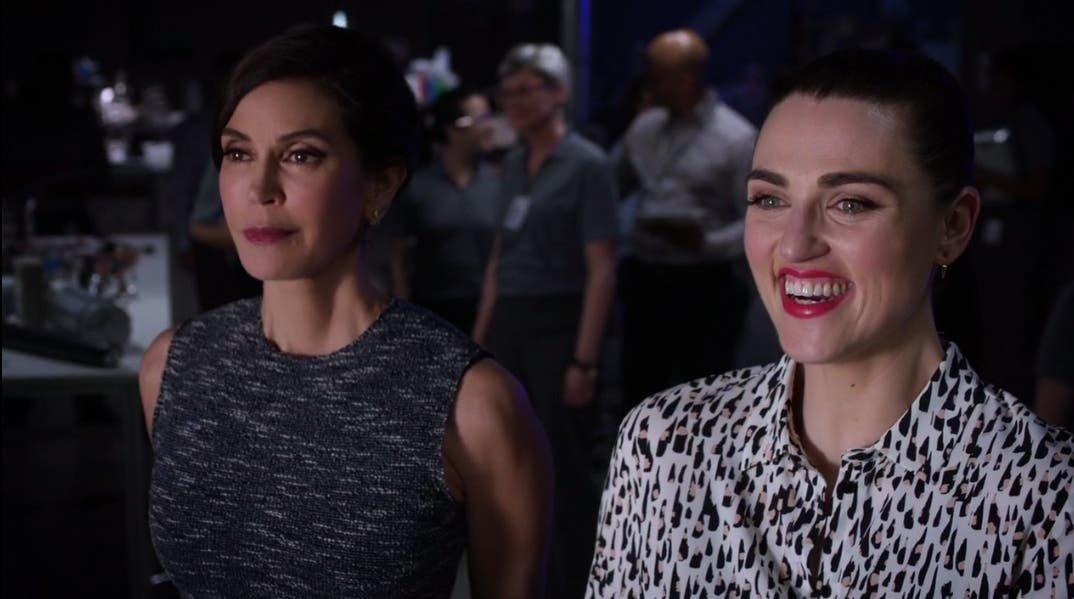 Lena y Rhea felices