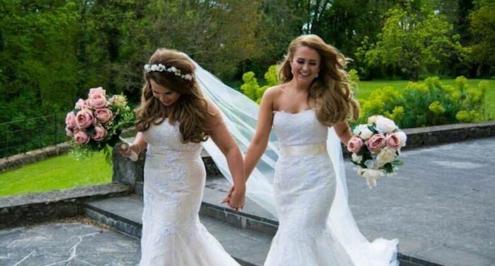 Estas lesbicanarias Irlandesas han protagonizado el vídeo de boda más romántico