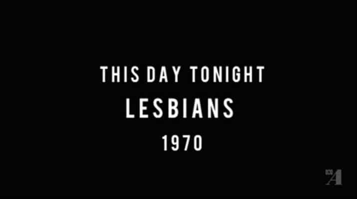 Un segmento informativo de 1970 explica cuántas mujeres son realmente lesbianas