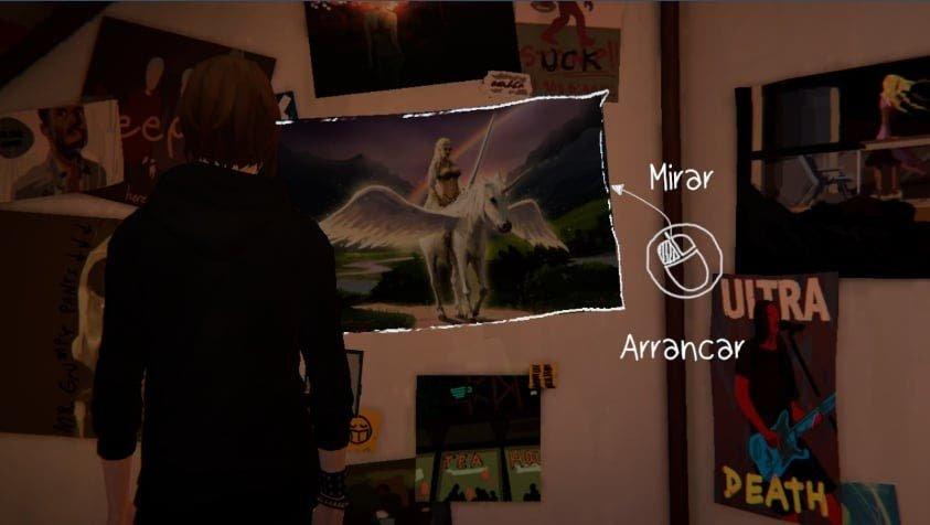 Chloe poster mujer arcoiris