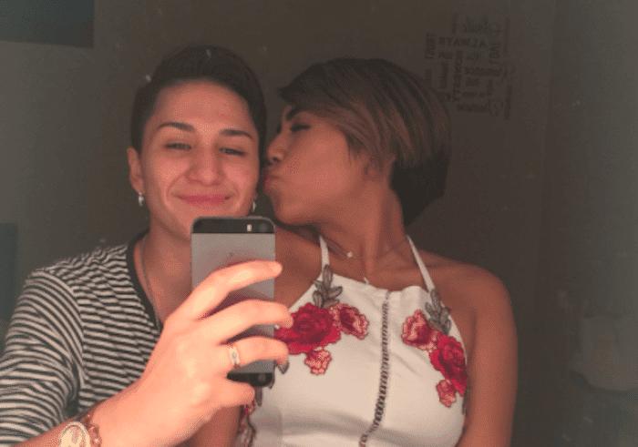 Esta pareja lésbica ha demostrado que el amor puede con todo