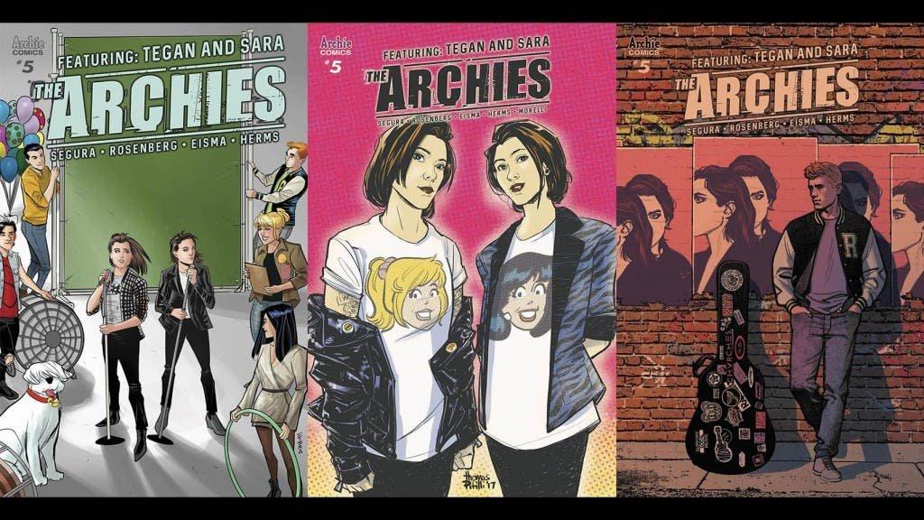 Tegan y Sara cómics Archie