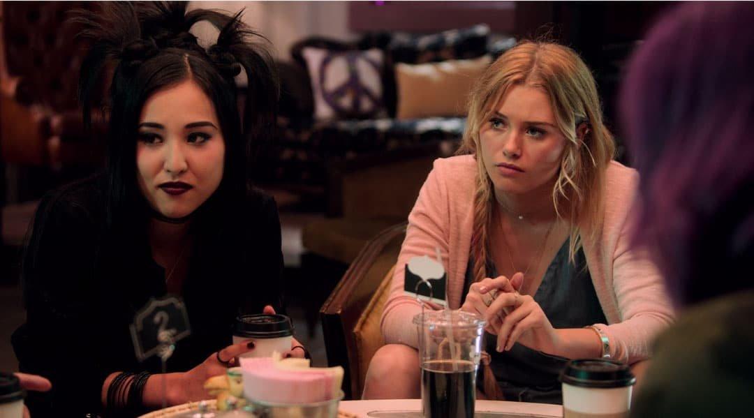 Nico y Karolina en la mesa