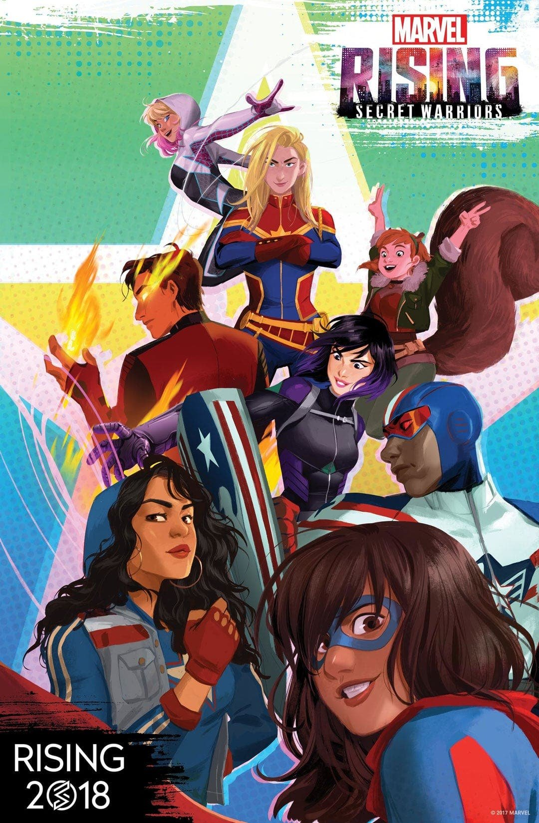 Marvel Secret Warriors Poster