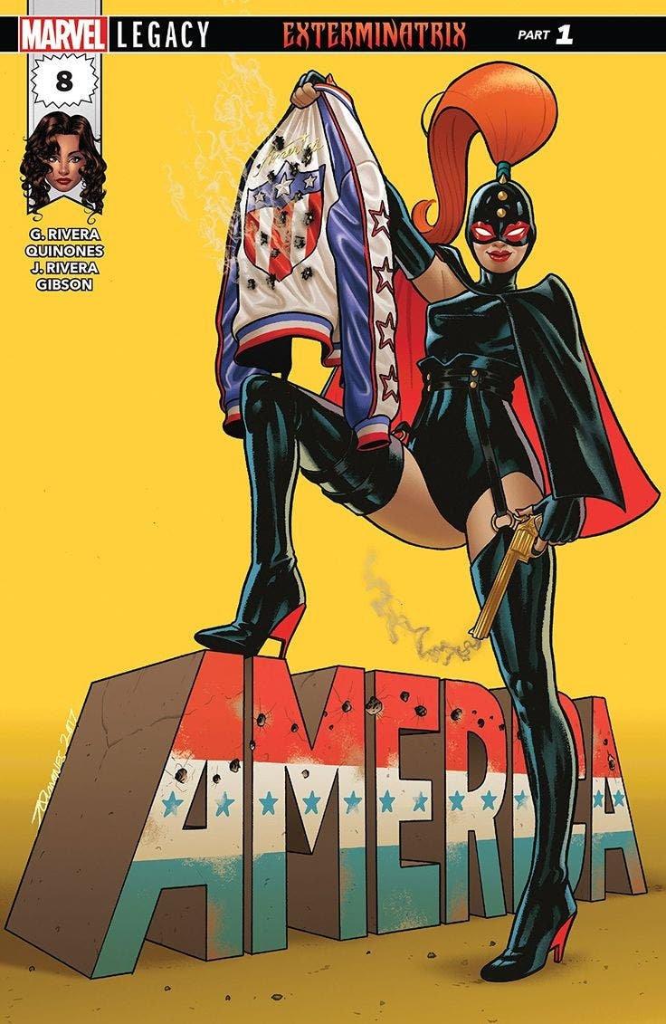 America 8 portada