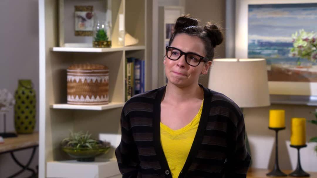 Elena llorando en Día a Día