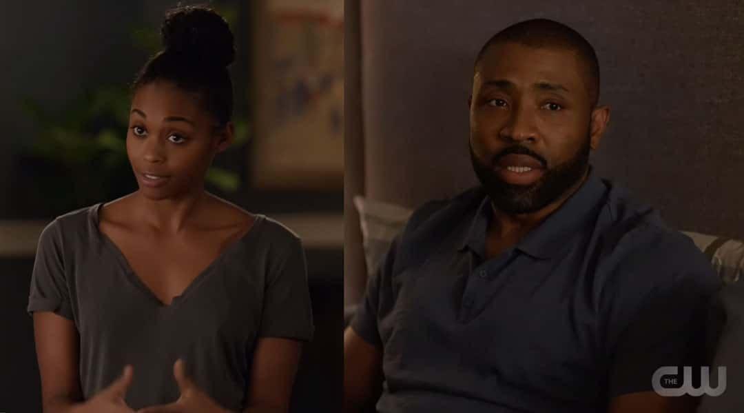 Anissa y Jefferson hablando