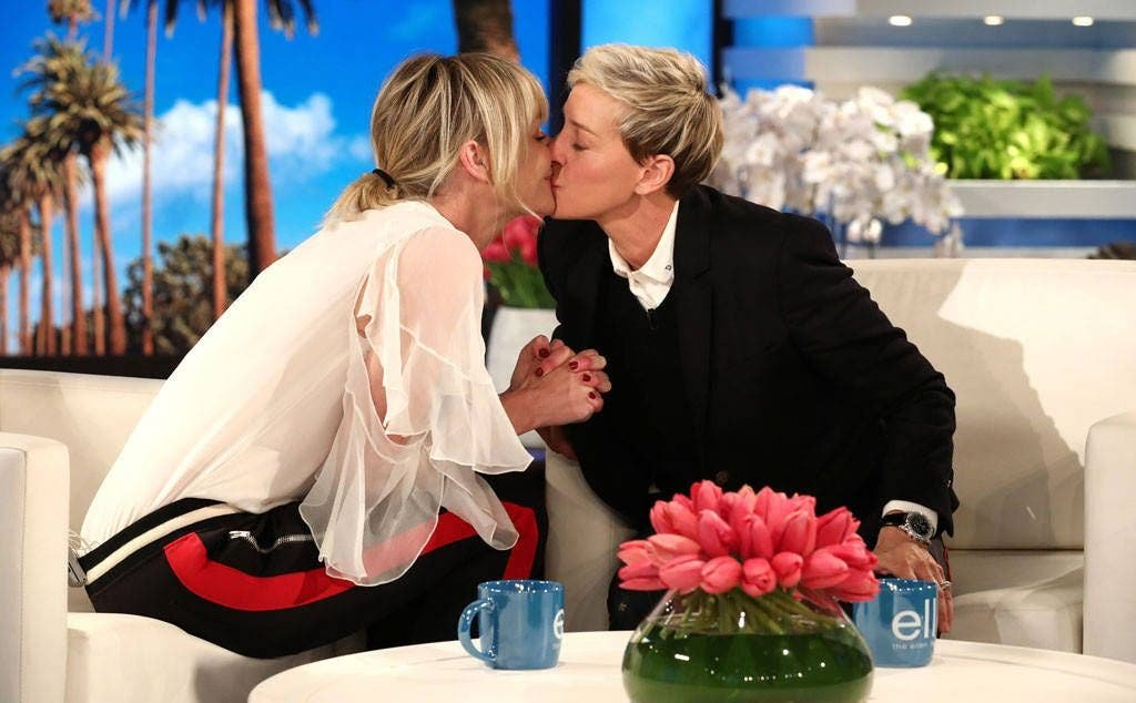 El regalo de Portia de Rossi que hizo llorar a Ellen DeGeneres