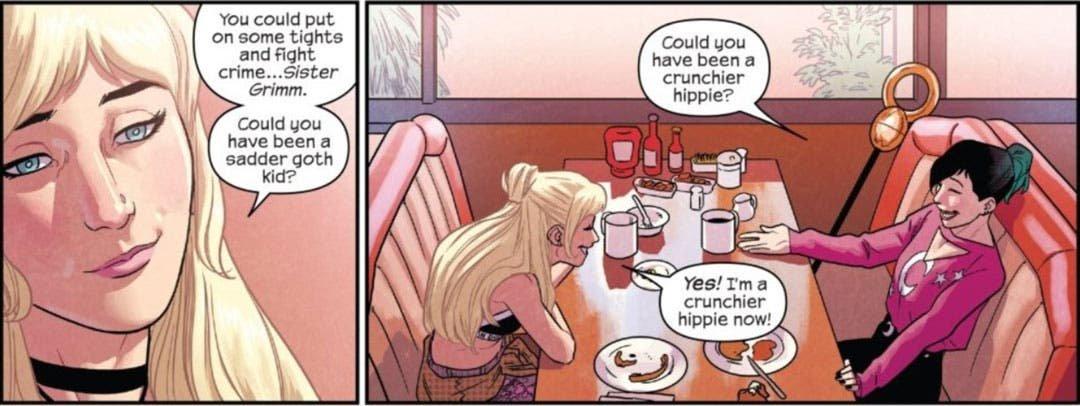 Deanoru desayunando