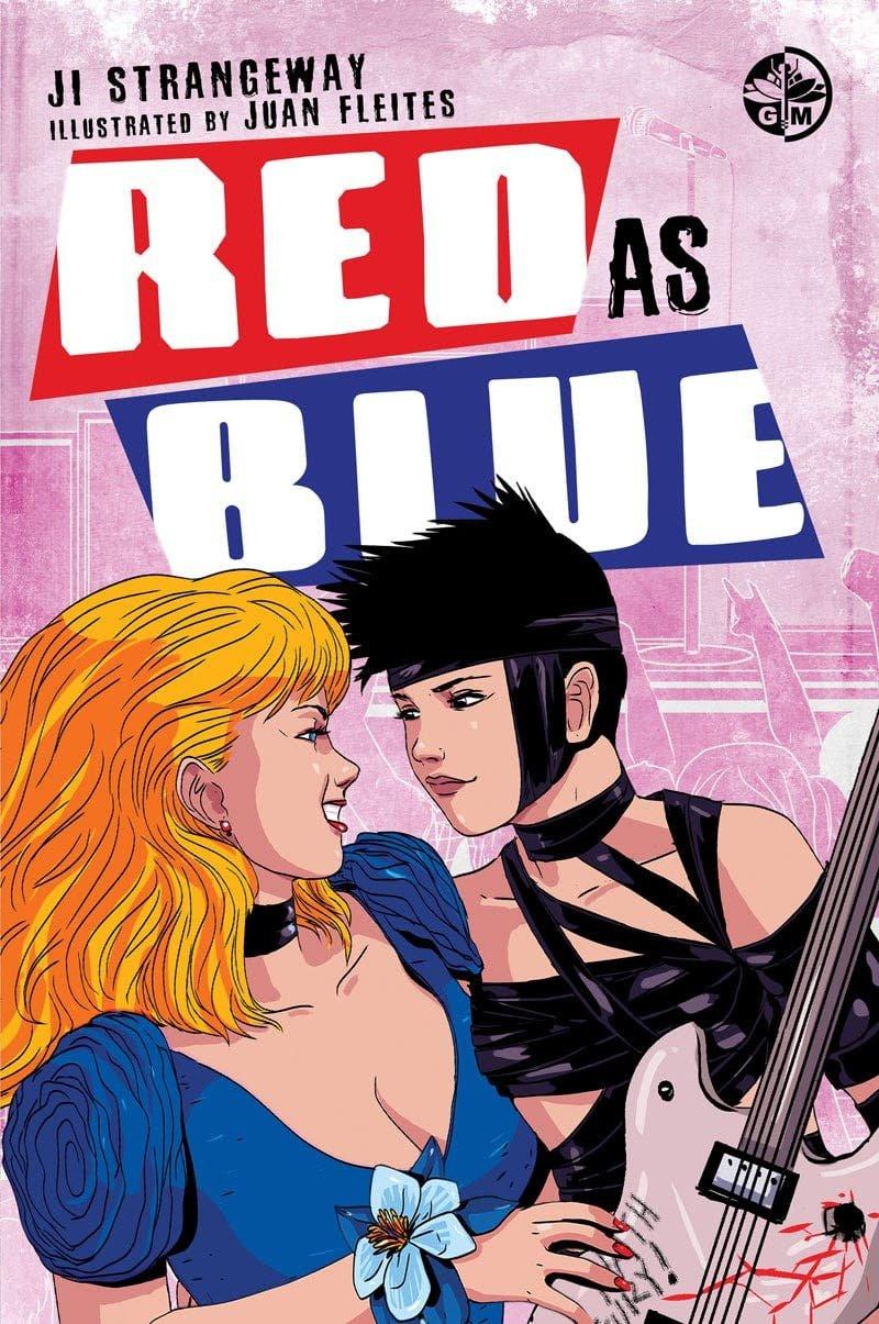 Red as Blue portada