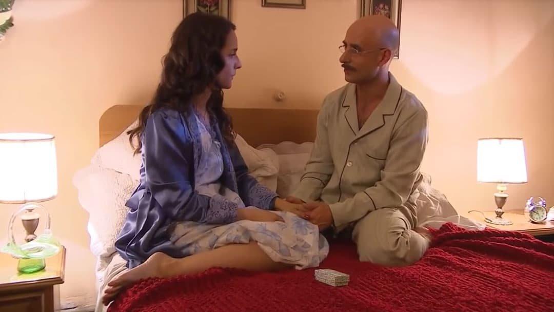 Barbara hablando con Nicanor