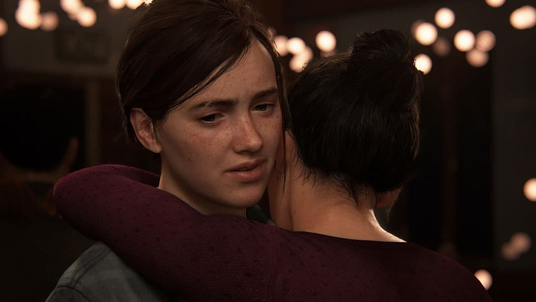 Ellie bailando en The Last of Us