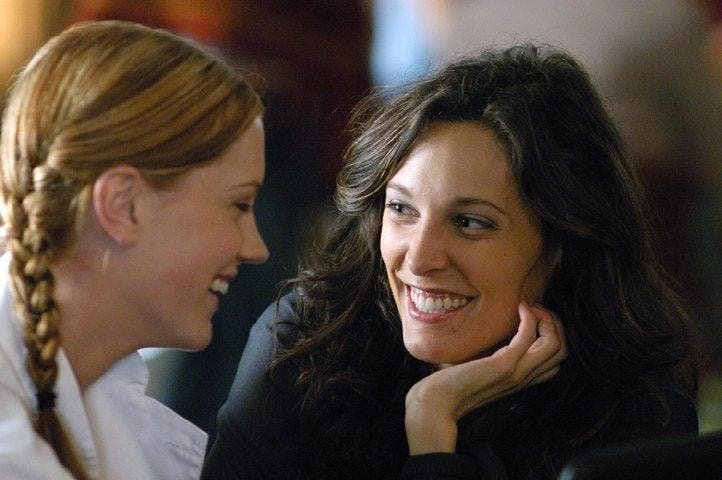 Dana y Lara en The L Word