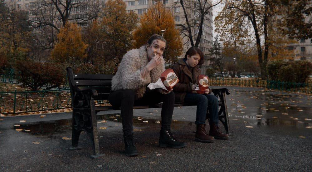 Villanelle en el parque