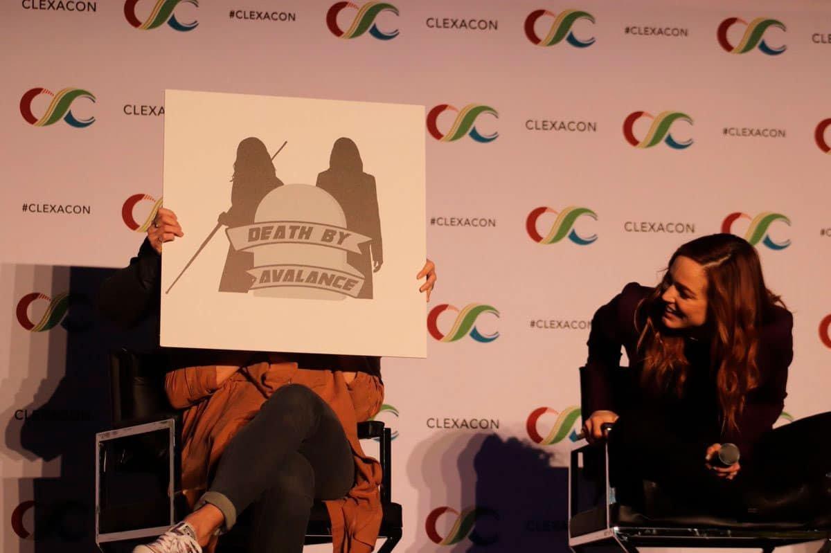 Panel de Nyssara en la ClexaCon 2019