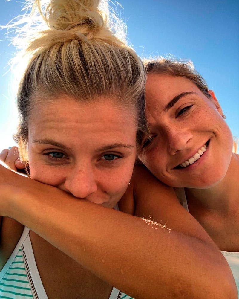 Kristie Mewis y Rachel Daly pareja lésbica