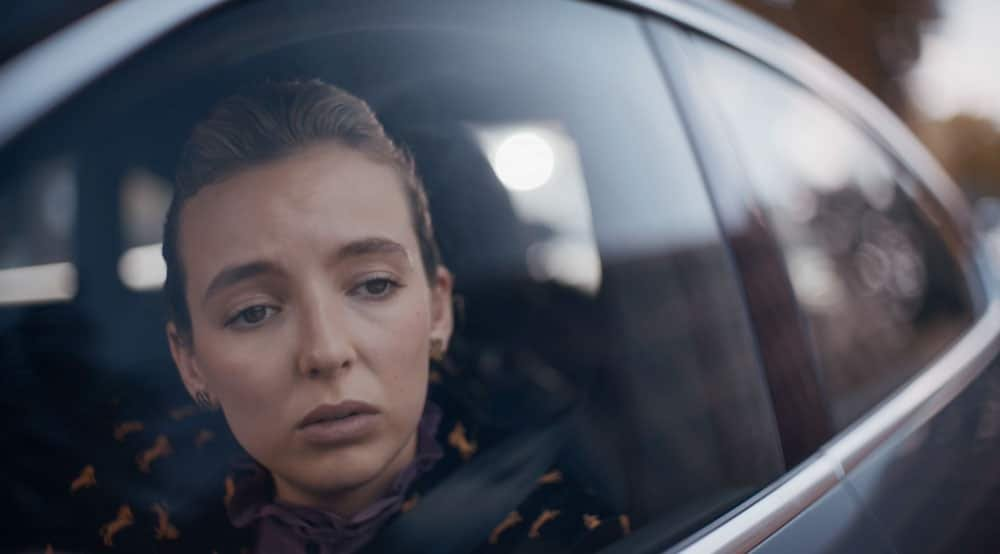 Villanelle en el coche