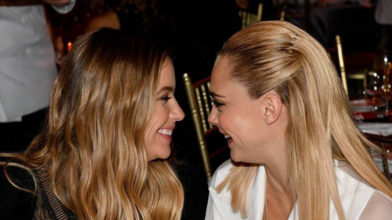 Lo más lésbico de la Gala Trevor Project: Cara Delevingne declara su amor a Ashley Benson
